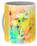 Watercolor Wildflowers - Digital Paint Coffee Mug