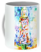 Watercolor Woman.18 Coffee Mug