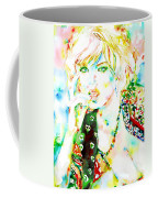 Watercolor Woman.3 Coffee Mug