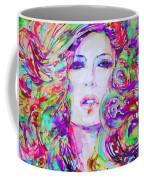 Watercolor Woman.32 Coffee Mug