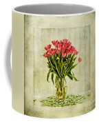 Watercolour Tulips Coffee Mug by John Edwards