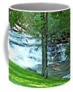 Waterfall And Hammock In Summer 2 Coffee Mug