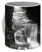Waterfall And Rocks Coffee Mug