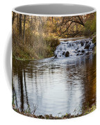 Waterfall At Bonneyville Coffee Mug