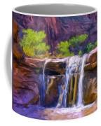 Waterfall At Coyote Creek Coffee Mug