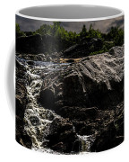 Waterfall At Sunrise Coffee Mug by Bob Orsillo