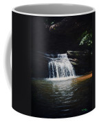 Waterfall At Table Rock National Forest Coffee Mug
