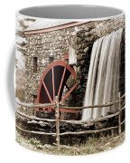 Waterfall At The Mill Coffee Mug