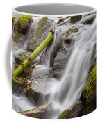 Waterfall Close Up In Marlay Park Coffee Mug