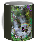 Waterfall Daydream Coffee Mug by Alixandra Mullins