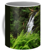 Waterfall Fern Square Coffee Mug