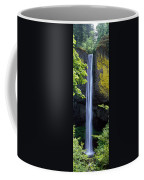Waterfall In A Forest, Latourell Falls Coffee Mug