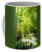 Waterfall In Rainforest Coffee Mug