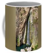 Waterfall In Ronda Coffee Mug
