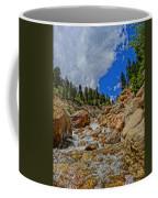 Waterfall In The Rockies Coffee Mug