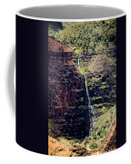 Waterfall In The Valley Coffee Mug