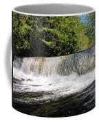 Waterfall In Woodstock Vermont Coffee Mug