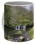 Waterfall Lathkill Dale Derbyshire Coffee Mug
