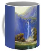 Waterfall New Zealand Coffee Mug