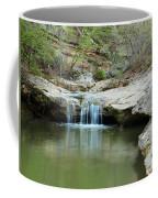 Waterfall On Piney Creek Coffee Mug