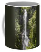 Waterfall On The Road To Hana Coffee Mug