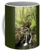 Waterfall Through Woodland Coffee Mug