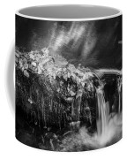 Waterfalls Childs National Park Painted Bw   Coffee Mug