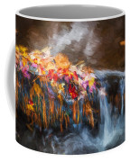 Waterfalls Childs National Park Painted  Coffee Mug