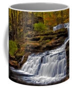 Waterfalls In The Fall Coffee Mug by Susan Candelario