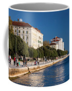 Waterfront Promenade In Zadar Coffee Mug