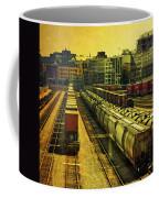 Waterfront Rail Yard Coffee Mug
