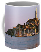 Waterfront, Rovinj, Croatia Coffee Mug