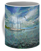 Waterfront View  Coffee Mug