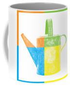 Watering Can Pop Art Coffee Mug