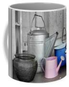 Watering Cans And Buckets Coffee Mug