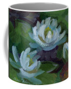 Waterlilies At Martha Lake 2 Coffee Mug
