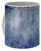Waterlilies Two Weeping Willows Coffee Mug