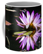 Waterlily And Dragonfly Coffee Mug