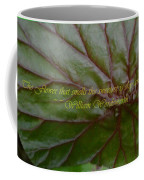 Waterlily Leaf Macro Coffee Mug
