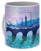 Waterloo Bridge Homage To Monet Coffee Mug by Kevin Croitz