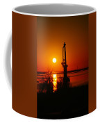 Waterpump In The Sunrise Coffee Mug by Jeff Swan