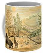 Watching The Moon Coffee Mug