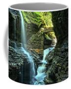 Watkins Glen Waterfalls Coffee Mug