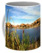 Watson Lake Coffee Mug by Kurt Van Wagner