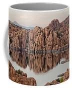 Watson Lake Tranquility Coffee Mug by Angie Schutt
