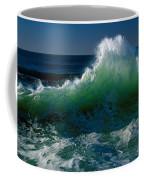 Wave Crashing On Pacific Coast, Oregon Coffee Mug
