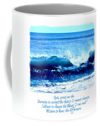 Wave Serenity Prayer Coffee Mug