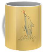 Wave The Suzuki Dolphin Coffee Mug by Sheri Lauren Schmidt