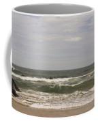 Waves And Clouds Coffee Mug