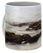 Waves And Rocks Coffee Mug